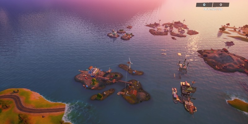 Este será o mapa de Fortnite após a nova descida da água