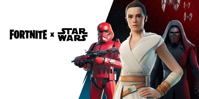Epic Fortnite comemora Star Wars