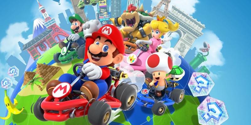 Mario Kart Tour adiciona corridas de equipe