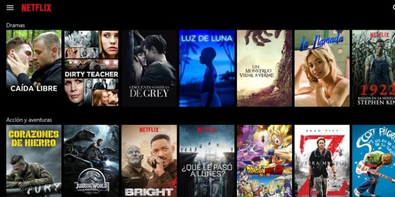 A Netflix atende a uma solicitação do usuário
