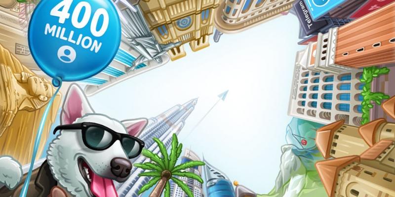 Telegram comemora 400 milhões de usuários